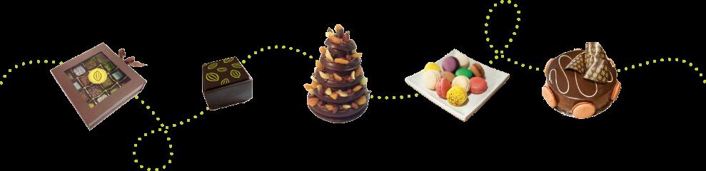 Produits de Adorable Chocolat