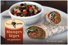 Manger léger au Tazza CAFFE