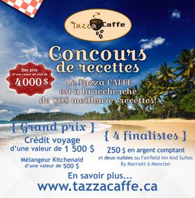 Concours de recette au Tazza CAFFE