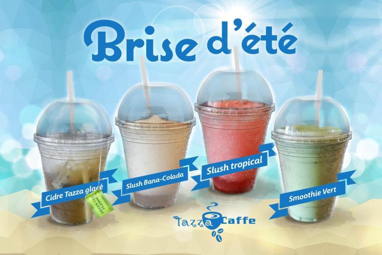 Brise d'été au Tazza CAFFE