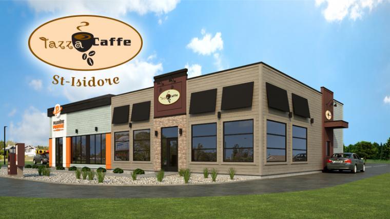 Tazza CAFFE à Saint-Isidore