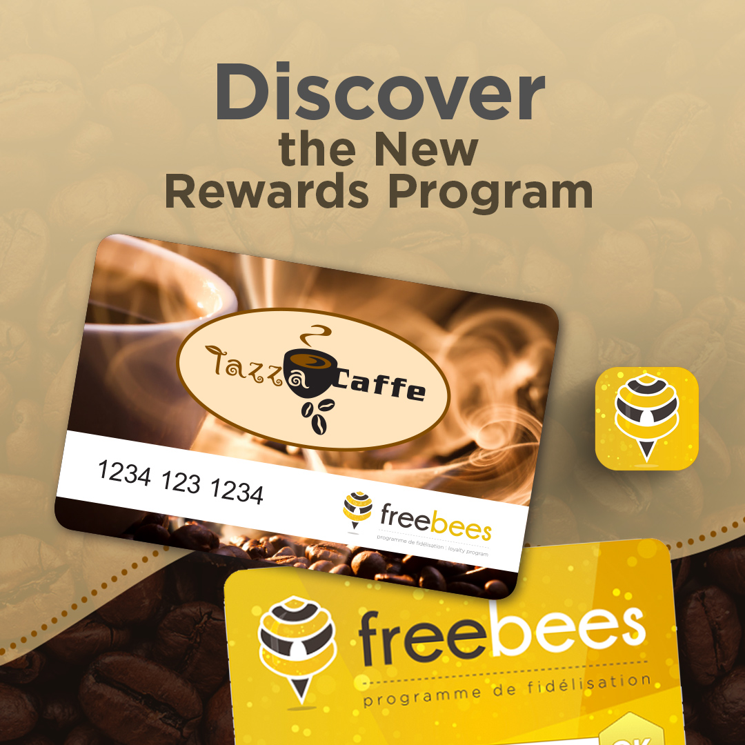 Discover the New Tazza CAFFE Rewards Program!