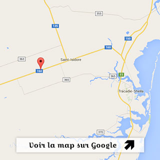 Map google du Tazza CAFFE à Tracadie-Sheila