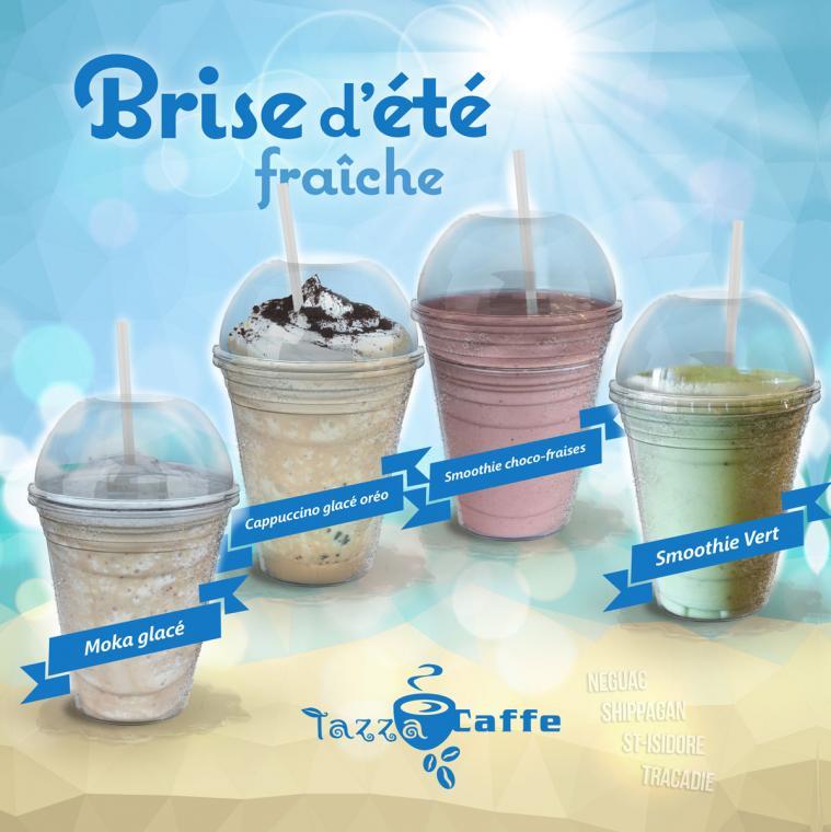 Bride d'été au Tazza CAFFE